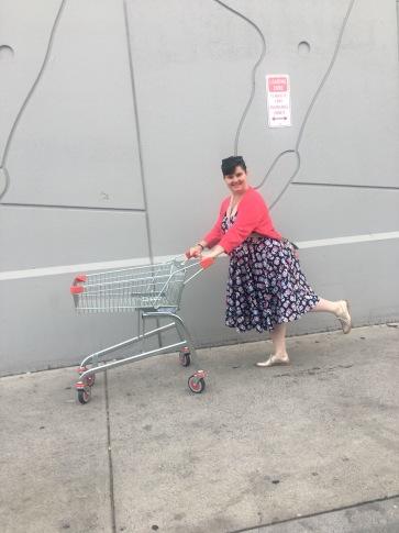 Off my trolley.